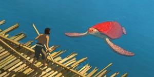 Film animation La tortue Rouge